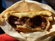 Venison and portabello pie from Fergbaker, Queenstown. Really delicious!