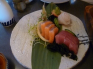 Sashimi at Kappa Sushi Cafe, Queenstown.